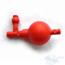 груша резининовая с 3 клапанами и переходником